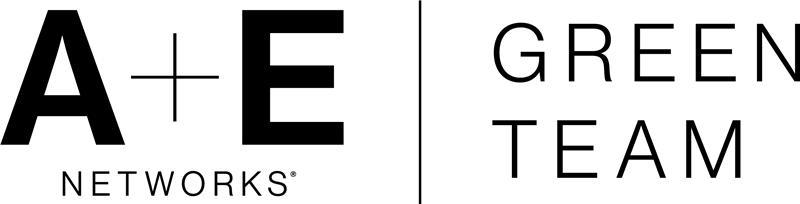 A+E Networks Green Team Logo
