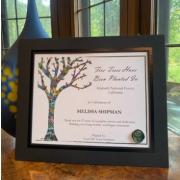 Tribute Certificate Example
