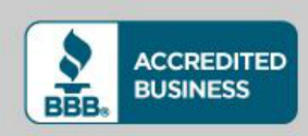 Better Business Bureau Logo showing The Gifted Tree is an Accredited Business