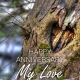 Celebration Digital eCard Front - Anniversary Tree Heart