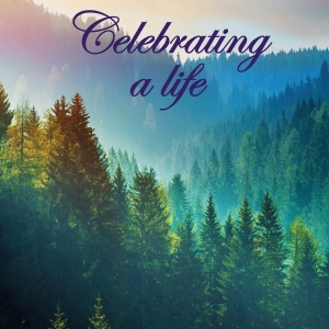 "Memorial Digital eCard Front - ""Celebrating a Life"""