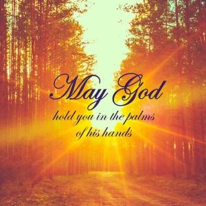 """Memorial Digital eCard Front - """"May God ..."""""""