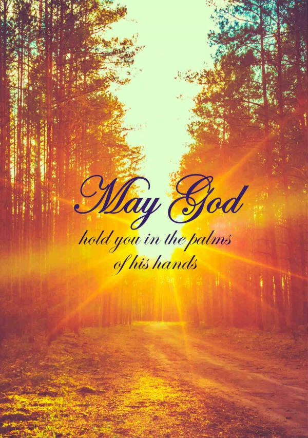 "Memorial Digital eCard Front - ""May God ..."""