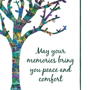 "Memorial Digital eCard Front - ""May Your Memories ..."""
