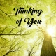 "Memorial Digital eCard Front - ""Thinking of You"""