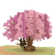 Pride Card - Dogwood Tree Popup Card Featuring Females on a Branch