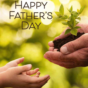 Planting Father's Day eCard Front