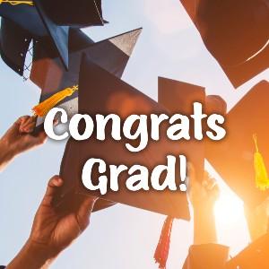 Graduation eCard - Caps Off