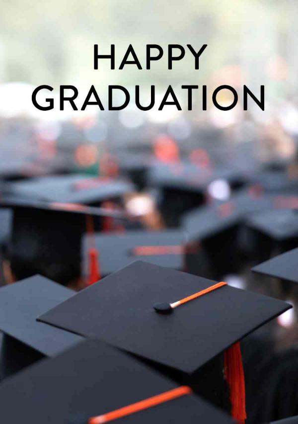 Graduation eCard Front - Commencement