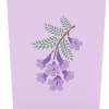 Jacaranda Tree Pop-up Card Cover