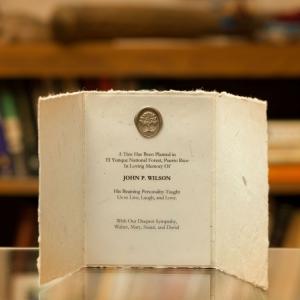 Handmade Seed Paper Card Tree Certificate