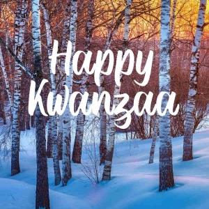 Holiday Digital eCard Front - Happy Kwanza
