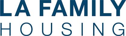 LA Family Housing Logo White Background