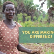 Planting gift trees make a difference in people's lives