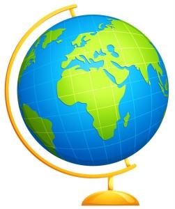 Globe and Stand