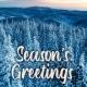 Holiday Digital eCard front - Season's Greetings