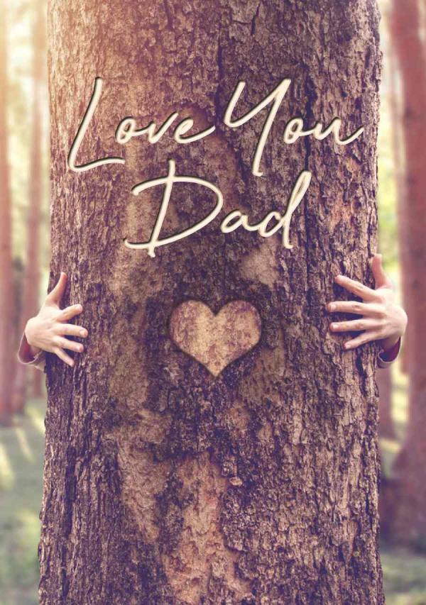 Tree Hug Mother's Day eCard Front