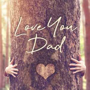 Fathers Day eCard - Tree Hug