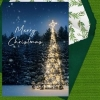 Holiday Digital eCard Front - Merry Christmas Tree