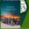 Holiday Digital eCard - Happy Holidays Sunset