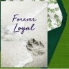 "Pet Loss Digital eCard ""Forever Loyal"" Front"