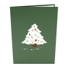 Christmas Tree Pop-up Card Cover
