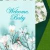 "New Baby Celebration Digital eCard ""Welcome, Baby"""