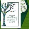 """Memorial Digital eCard """"May Your Memories ..."""" Front"""