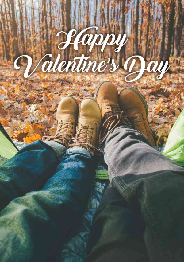 Valentines Digital eCard Front - Couple