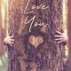 Valentines Digital eCard Front - Tree Hug