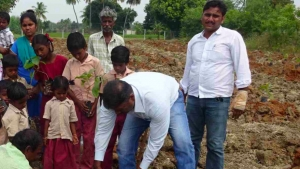 The Gifted Tree planting project in India