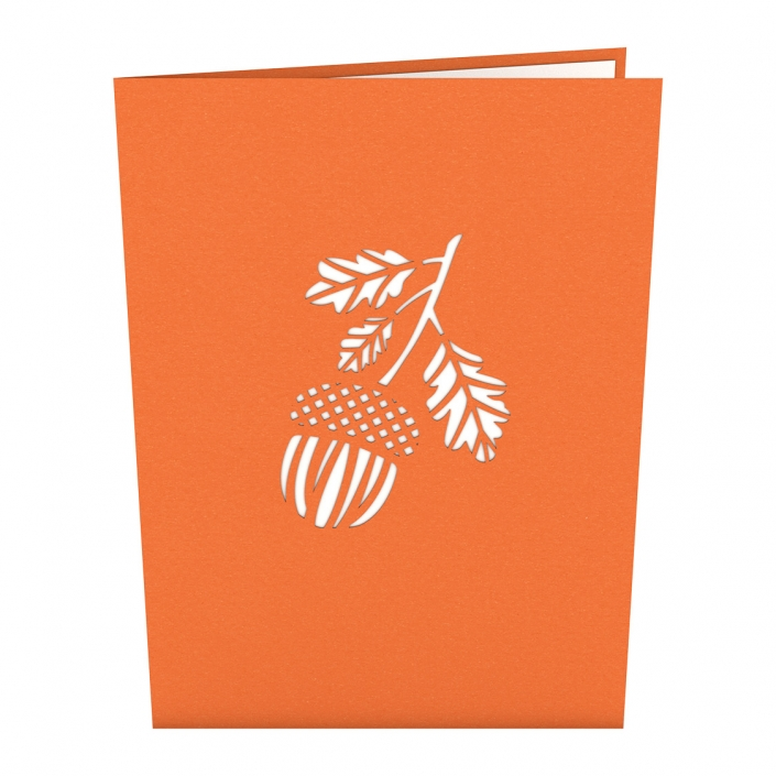 Mighty Oak Tree 3-D Pop-Up Card Cover