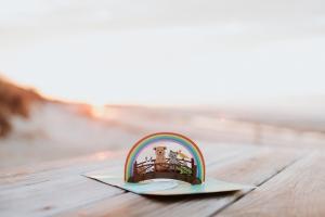 Rainbow Bridge 3D Pop-Up Card