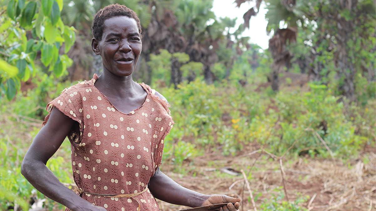 The Gifted Tree planting project in Uganda